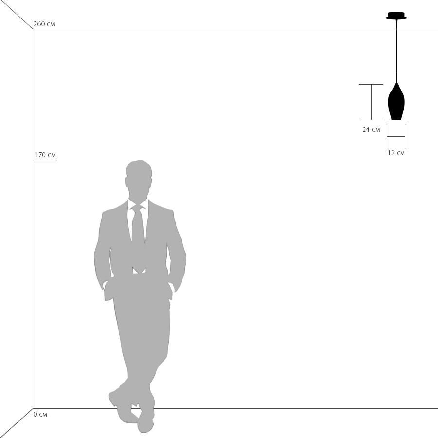 Схема с размерами Lightstar 803021