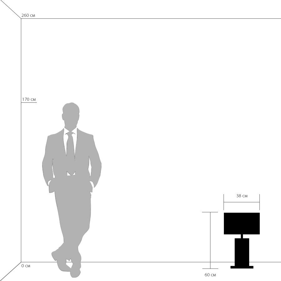 Схема с размерами Lightstar 870936